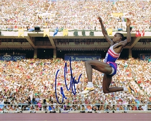 Carl Lewis Signed 8x10 Photo - Video Proof