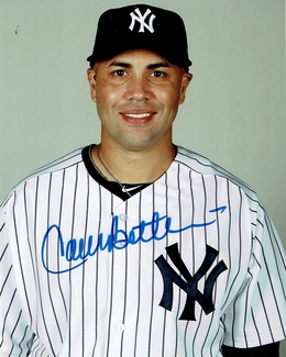 Carlos Beltran Signed 8x10 Photo - Video Proof