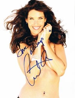 Carol Alt Signed 8x10 Photo - Video Proof