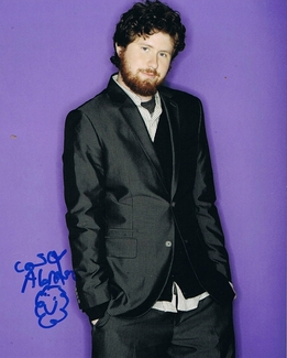 Casey Abrams Signed 8x10 Photo - Video Proof