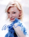 Cate Blanchett Signed 8x10 Photo