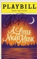 Catherine Zeta-Jones Signed Playbill