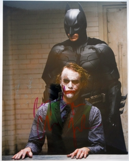 Christian Bale Signed 11x14 Photo - Video Proof