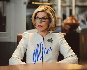 Christine Baranski Signed 8x10 Photo