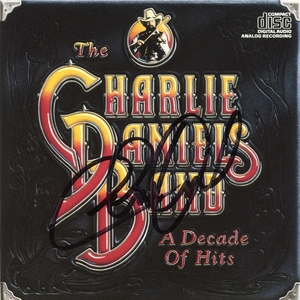 Charlie Daniels Signed CD Booklet