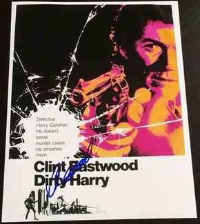 Clint Eastwood Signed 11x14 Photo - Video Proof