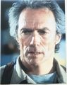 Clint Eastwood Signed 11x14 Photo