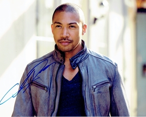 Charles Michael Davis Signed 8x10 Photo