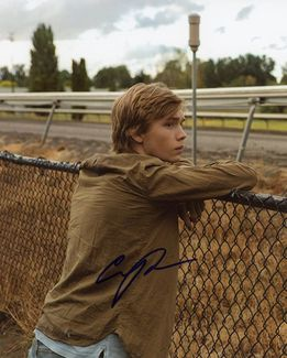 Charlie Plummer Signed 8x10 Photo
