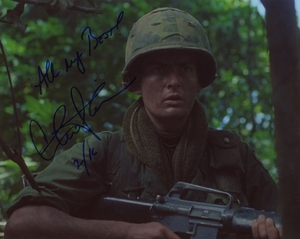 Charlie Sheen Signed 8x10 Photo - Video Proof