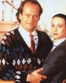 Kelsey Grammer & Bebe Neuwirth Signed 8x10 Photo