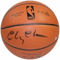 Chevy Chase Signed Basketball