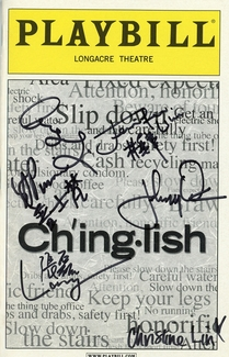 Chinglish Signed Playbill