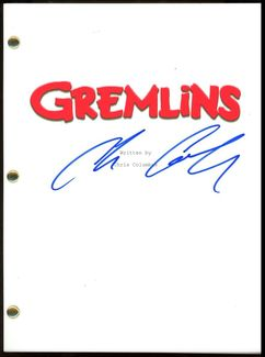 Chris Columbus Signed Script