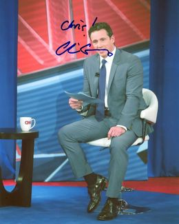 Chris Cuomo Signed 8x10 Photo