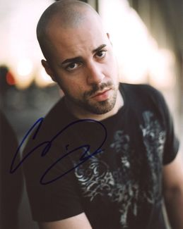 Chris Daughtry Signed 8x10 Photo