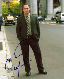 Christopher Meloni Signed 8x10 Photo - Video Proof