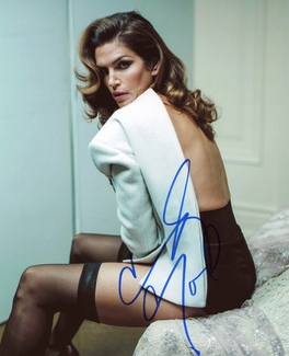 Cindy Crawford Signed 8x10 Photo