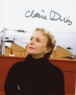 Claire Denis Signed 8x10 Photo