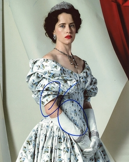 Claire Foy Signed 8x10 Photo