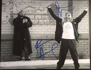 Kevin Smith & Jason Mewes Signed 11x14 Photo