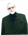 Clive Davis Signed 8x10 Photo
