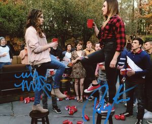 Mary Mouser & Peyton List Signed 8x10 Photo