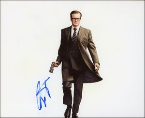 Colin Firth Signed 8x10 Photo