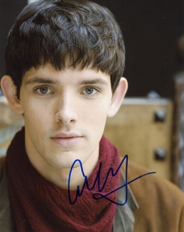 Colin Morgan Signed 8x10 Photo