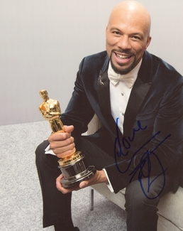 Common Signed 8x10 Photo