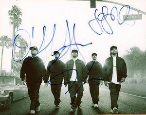 Straight Outta Compton Signed 8x10 Photo