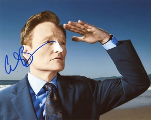 Conan O'Brien Signed 8x10 Photo