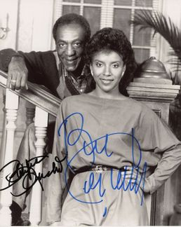 Bill Cosby & Phylicia Rashad Signed 8x10 Photo