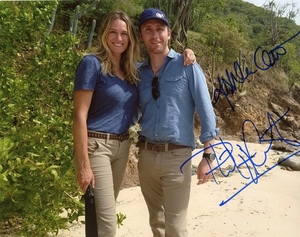 Ashlan & Philippe Cousteau Signed 8x10 Photo