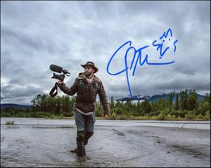 Coyote Peterson Signed 8x10 Photo