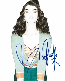 Crystal Renn Signed 8x10 Photo