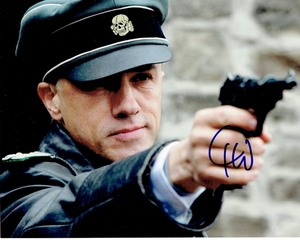 Christoph Waltz Signed 8x10 Photo