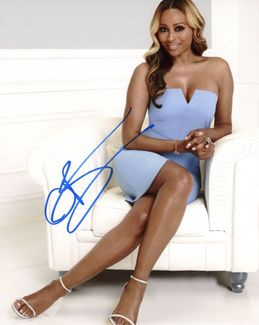 Cynthia Bailey Signed 8x10 Photo
