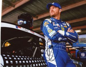 Dale Earnhardt, Jr. Signed 8x10 Photo