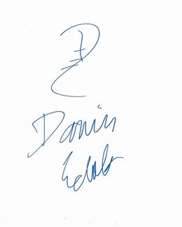 Damien Echols Signed 8x10 Sketch - Proof