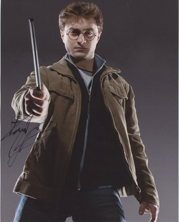 Daniel Radcliffe Signed 8x10 Photo