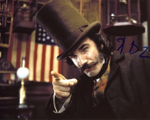 Daniel Day-Lewis Signed 8x10 Photo