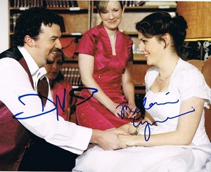 Danny McBride & Melanie Lynskey Signed 8x10 Photo - Video Proof