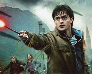 Daniel Radcliffe Signed 8x10 Photo - Video Proof