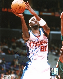 Darius Miles Signed 8x10 Photo