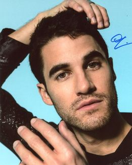 Darren Criss Signed 8x10 Photo