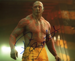 Dave Bautista Signed 8x10 Photo - Video Proof
