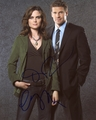 David Boreanaz & Emily Deschanel Signed 8x10 Photo - Video Proof