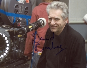David Cronenberg Signed 8x10 Photo - Video Proof