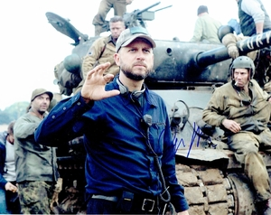 David Ayer Signed 8x10 Photo - Video Proof
